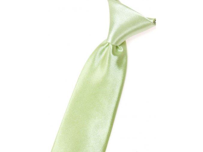Chlapecká kravata Avantgard - limetková