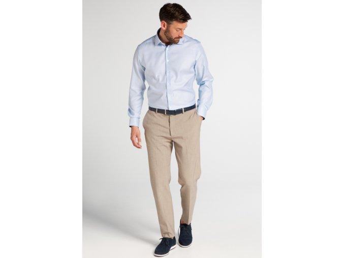 """Košile Eterna Modern Fit """"Streifen Twill"""" Modrá"""