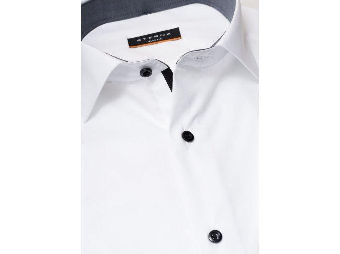 """Košile Eterna Slim Fit """"Uni Stretch"""" Bílá"""