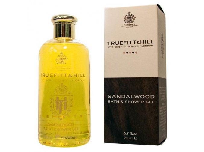 T&H Sandalwood Shower Gel