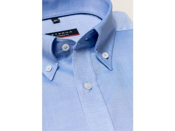 """Košile Eterna Modern Fit """"Fein Oxford"""" Modrá"""