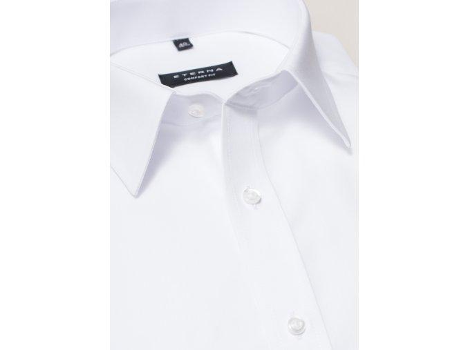 """Košile Eterna Comfort Fit """"Popeline"""" s krátkým rukávem Bílá"""