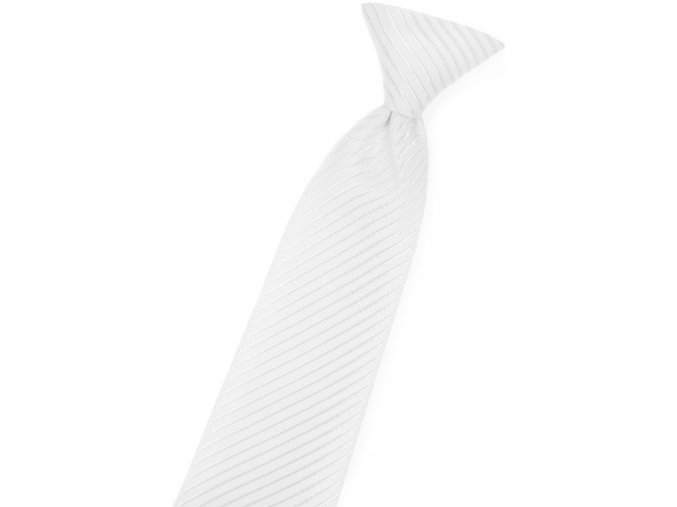 Chlapecká kravata Avantgard - bílá