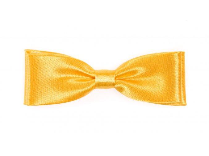 Dvojitý motýlek Avantgard Slim - žlutý