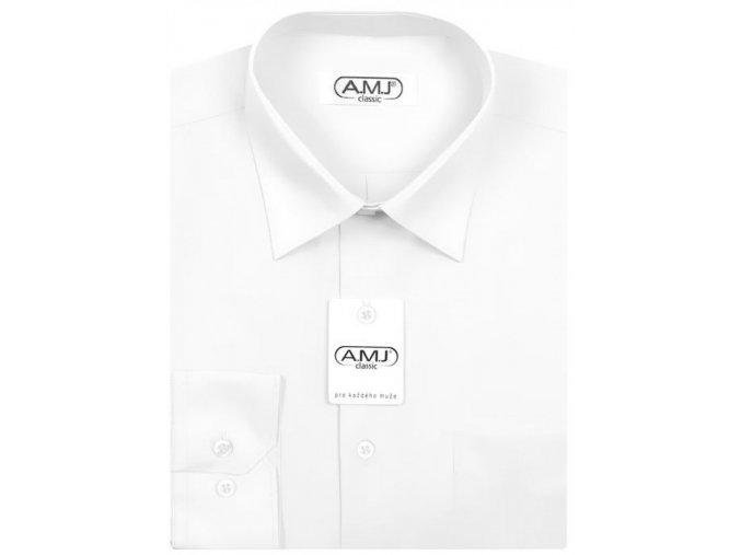 Chlapecká košile AMJ Bílá