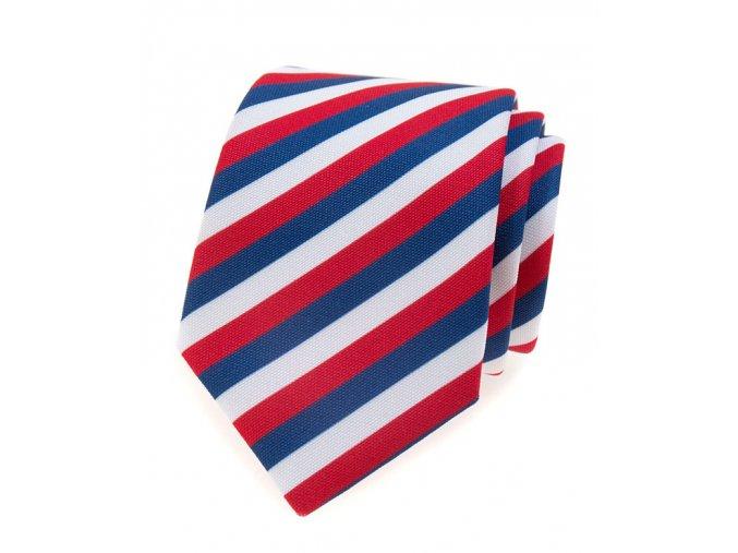 Kravata Avantgard Lux - trikolóra
