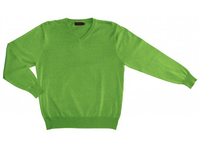 Pánský svetr AMJ Style - zelený