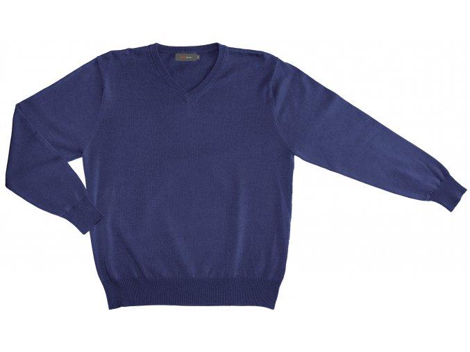 Pánský svetr AMJ Style - tmavě modrý