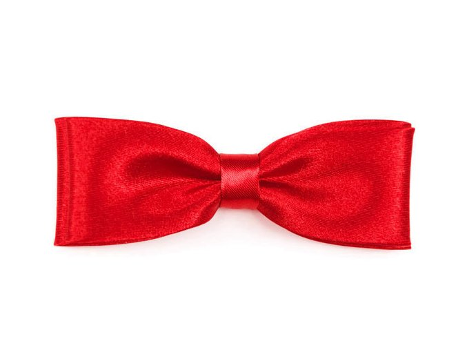 Dvojitý motýlek Avantgard Slim - červený