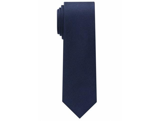 Úzká kravata Eterna - navy modrá
