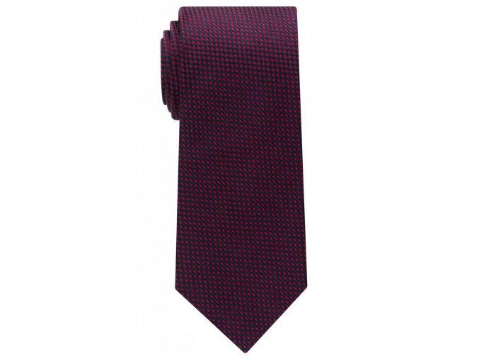 Vzorovaná kravata Eterna - modrá / červená