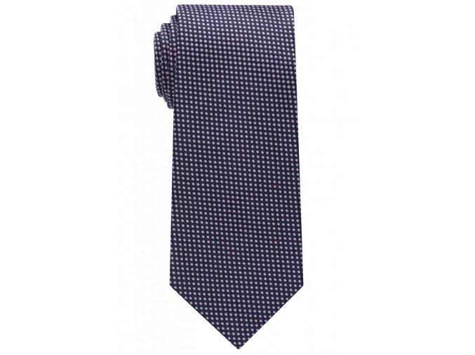 Vzorovaná kravata Eterna - modrá / růžová