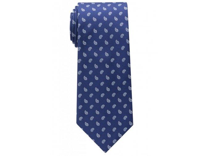 Vzorovaná kravata Eterna - tmavě modrá