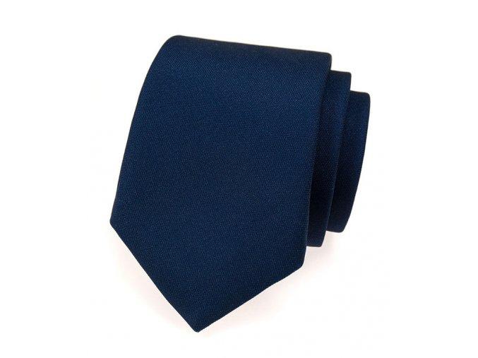 Kravata Avantgard Lux - navy modrá