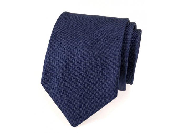 Kravata Avantgard Lux - tmavě modrá