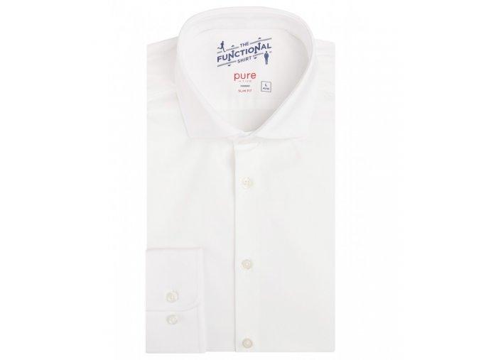 """Funkční košile Pure Slim Fit """"Functional"""" Bílá"""