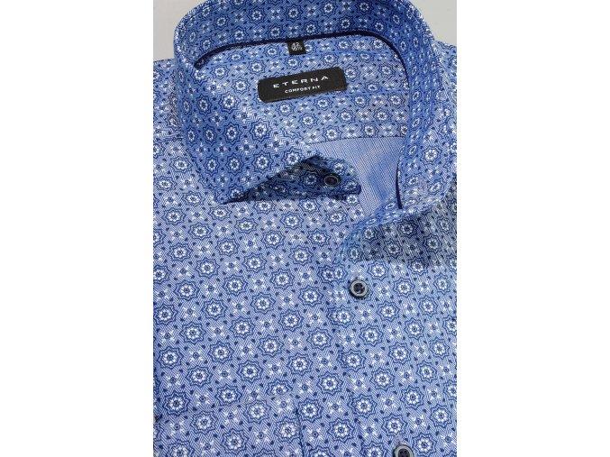 "Košile Eterna Comfort Fit ""Twill"" Modrá"