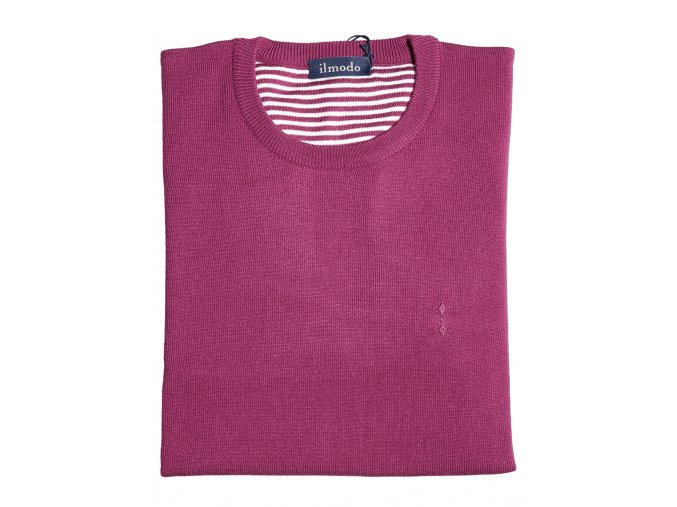 Pánský svetr Ilmodo - fuchsie