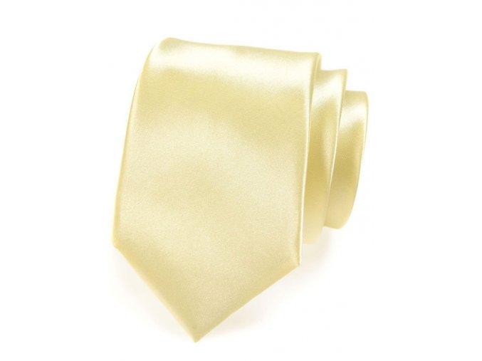 Kravata Avantgard Lux - žlutá