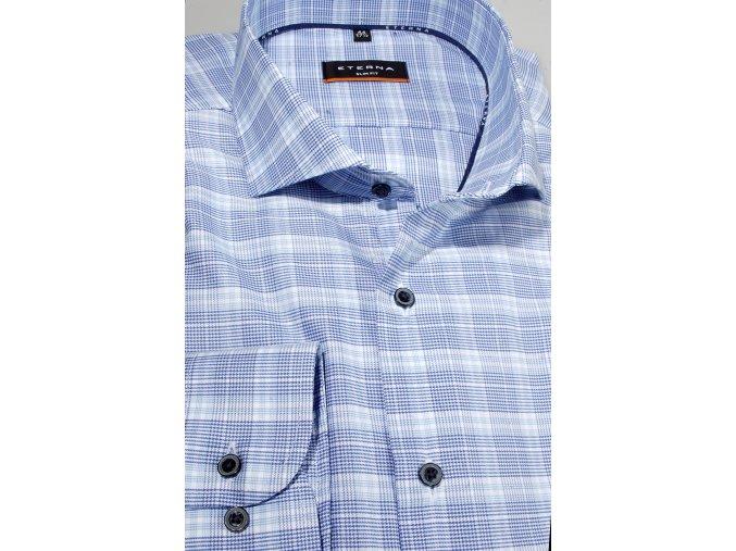 """Košile Eterna Slim Fit """"Popeline""""  Cool Shirt - Chladivá košile Modrá"""