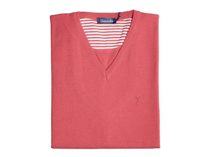 Pánská vesta Ilmodo - červená