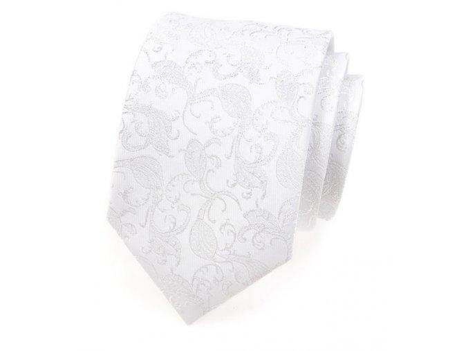 Společenská kravata Avantgard Lux - bílá