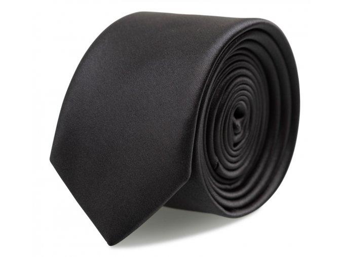 Kravata s kapesníčkem Brinkleys - antracitová