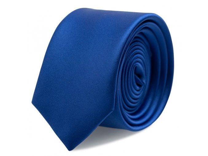 Kravata s kapesníčkem Brinkleys - královská modrá
