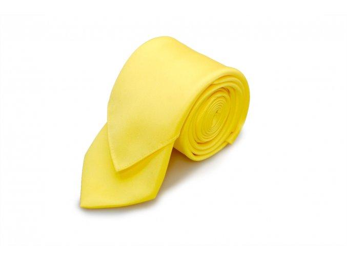 Kravata s kapesníčkem Brinkleys - žlutá