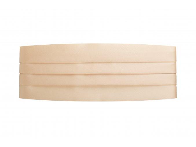 Frakový pás - světle meruňkový