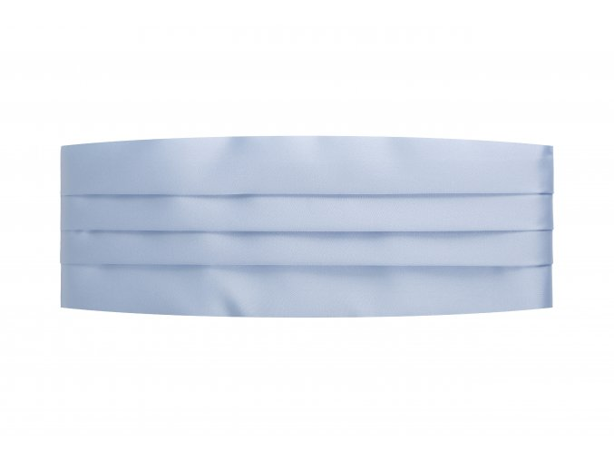 Frakový pás - světle modrý