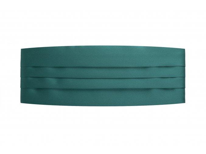 Frakový pás - smaragdový