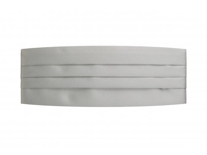 Frakový pás - stříbrný