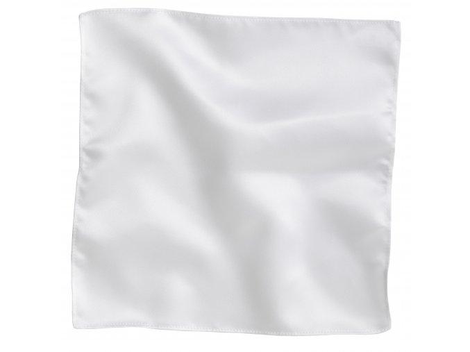 Klasický kapesníček do saka - bílý