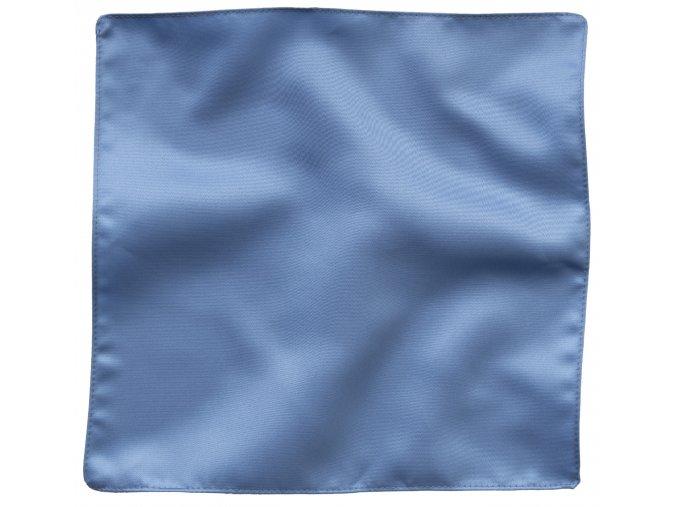Klasický kapesníček do saka - modrý
