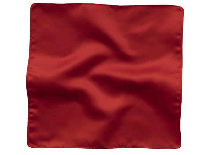 Klasický kapesníček do saka - červený