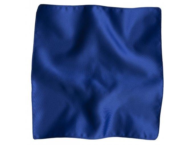 Klasický kapesníček do saka - královská modrá