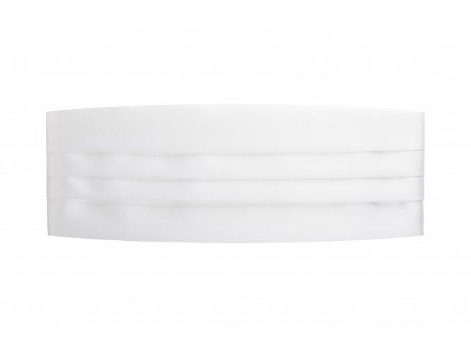 Frakový pás - bílý