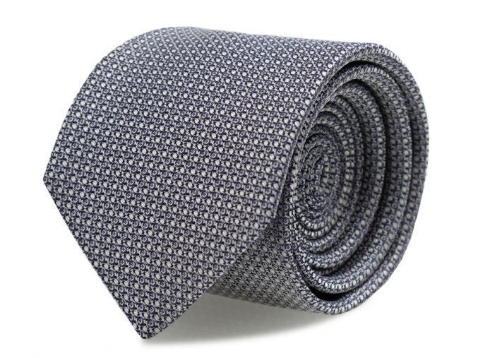 Kravata s kapesníčkem Brinkleys - navy