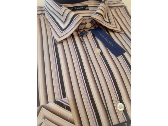 Košile Lui Bentini s prodlouženým rukávem