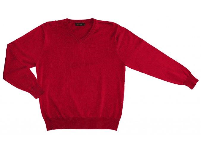 Pánský svetr AMJ Style - červený