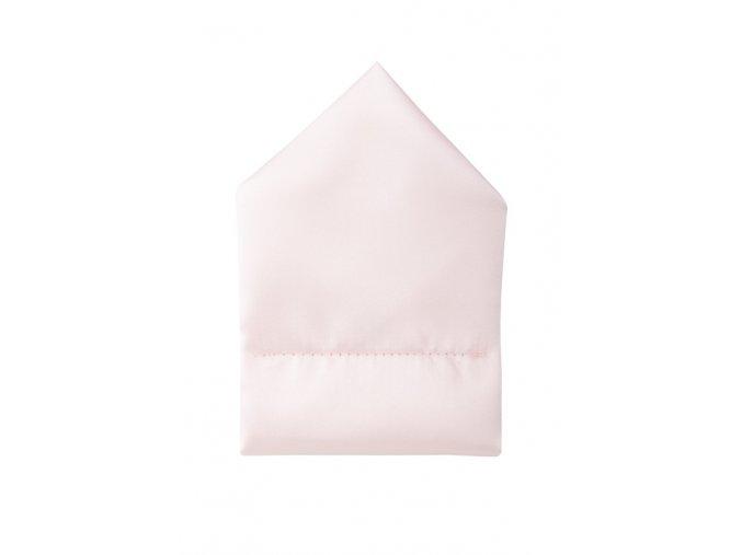 Twin kapesníček do saka - růžový
