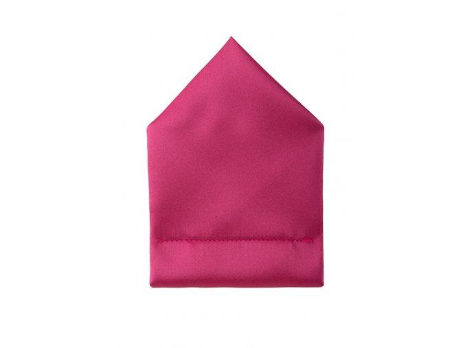 Twin kapesníček do saka - sytě růžový