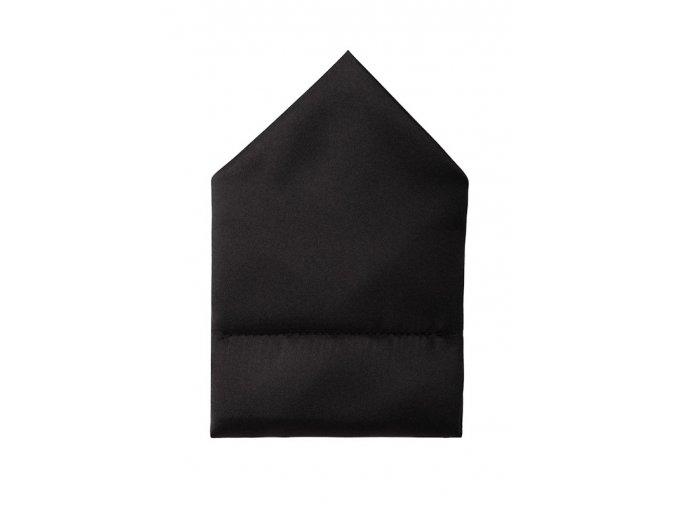 Twin kapesníček do saka - černý