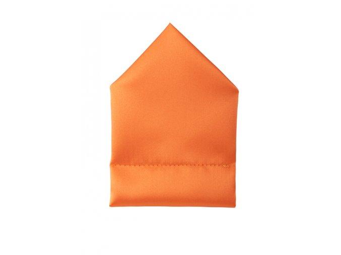 Twin kapesníček do saka - oranžový