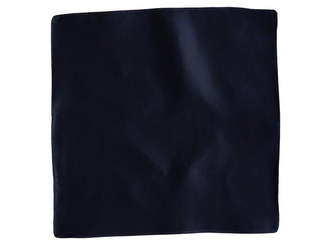 Hedvábný kapesníček do saka -navy
