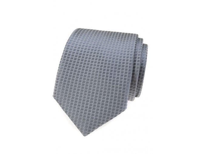Kravata Avantgard - šedá