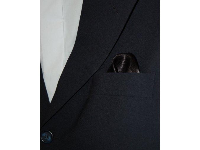 Společenský kapesníček Avantgard - černý