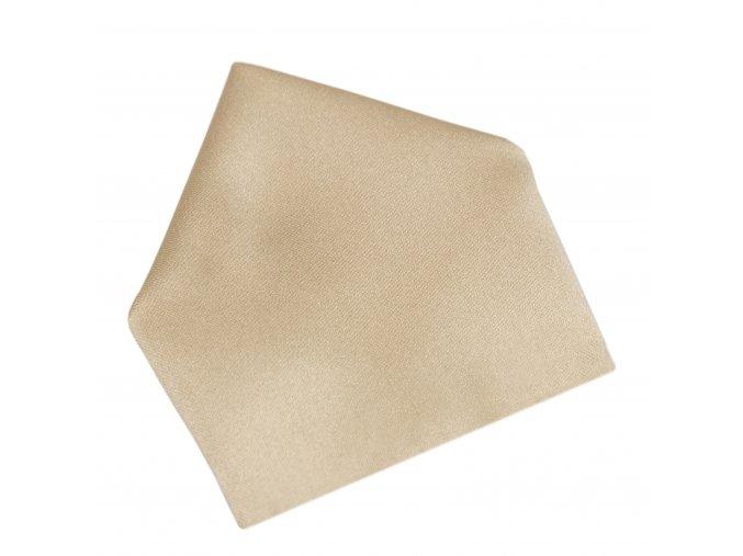 Společenský kapesníček Brinkleys - zlatohnědý