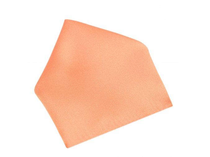 Společenský kapesníček Brinkleys - oranžový